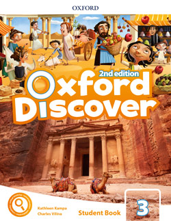 Oxford Discover second edition Level 3 Student's Book cover