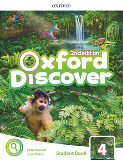 Oxford Discover second edition Level 4 Student's Book cover