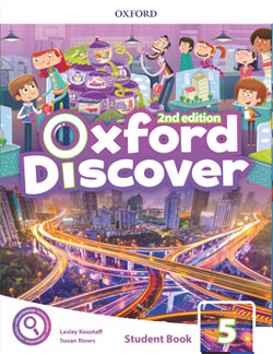 Oxford Discover second edition Level 5 Student's Book cover