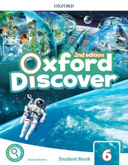 Oxford Discover second edition Level 6 Student's Book cover