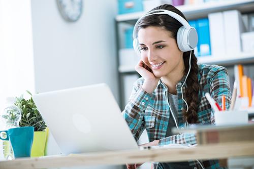 EFL online English practice