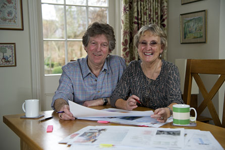 Liz and John Soars
