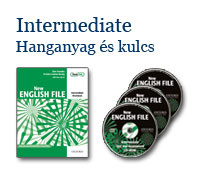 New English File Intermediate - Hanganyag és kulcs