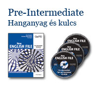 New English File Pre-Intermediate - Hanganyag és kulcs