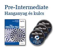 New English File Pre-Intermediate - Hanganyag és kulcs