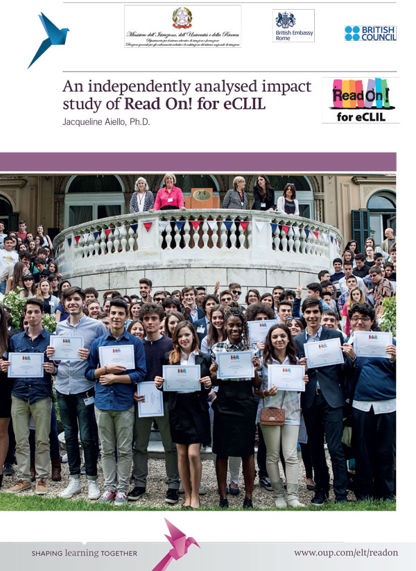 Read On! for eCLIL Impact Study Whitepaper