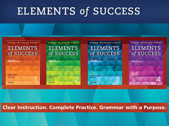 Solve Grammar Teaching Challenges - Elements of Success | Oxford University Press