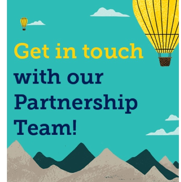 Get in touch with our partnership team
