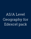 Geography for Edexcel A Level pack