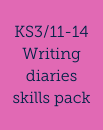 Writing diaries skills pack