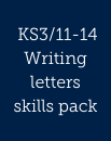Writing letters skills pack