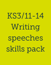 Writing speeches skills pack