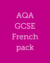 AQA GCSE French learning from 