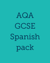 AQA GCSE Spanish learning from 