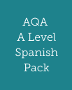 AQA A Level Spanish pack